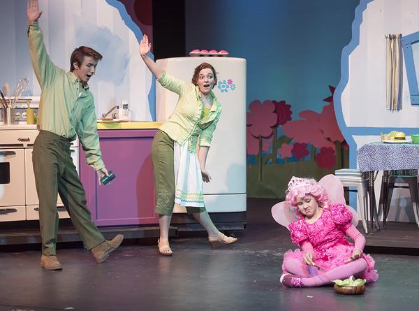Vincent Pugliese (Mr.Pinkerton), Carly McClain (Mrs. Pinkerton), Makenna Jacobs (Pink Photo
