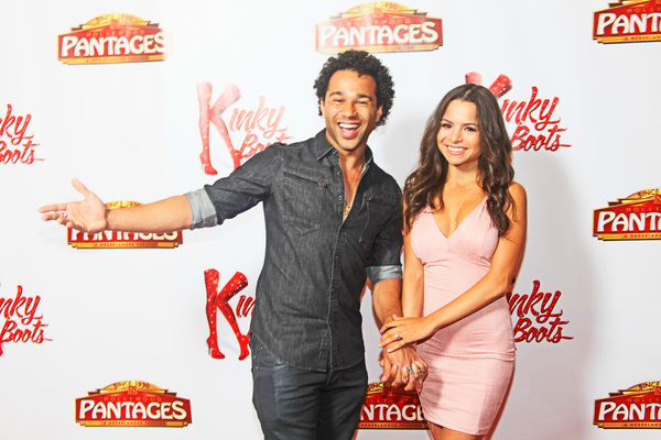 Photo Flash: Corbin Bleu, Jerry Mitchell & More Celebrate KINKY BOOTS' Opening Night at The Hollywood Pantages