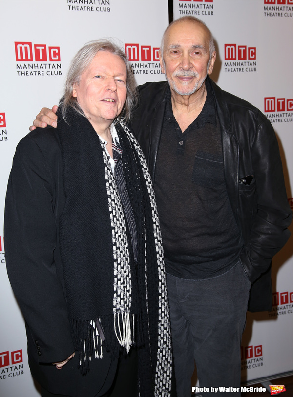 Christopher Hampton and Frank Langella