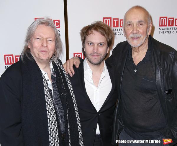 Christopher Hampton, Florian Zeller and Frank Langella