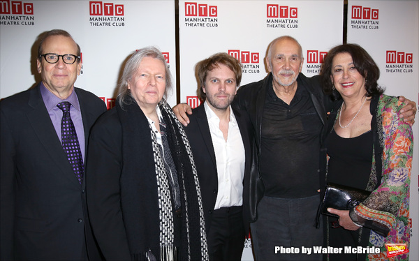 Barry Grove, Christopher Hampton, Florian Zeller, Frank Langella and Lynne Meadow