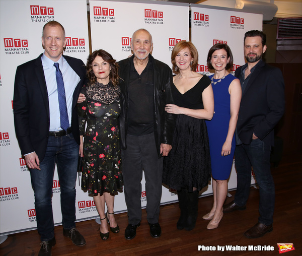 Charles Borland, Kathryn Erbe, Frank Langella, Kathleen McNenny, Hannah Cabell and Brian Avers