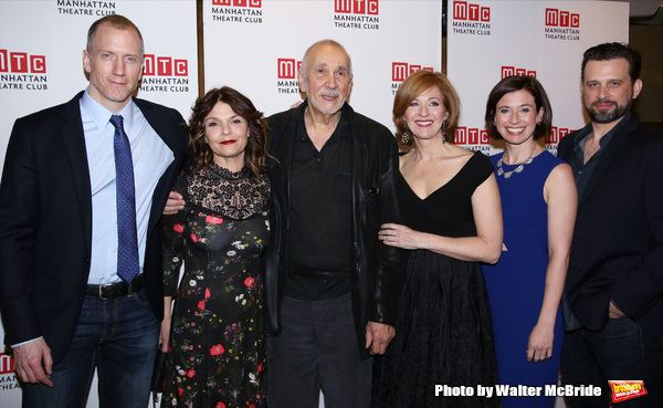 Charles Borland, Kathryn Erbe, Frank Langella, Kathleen McNenny, Hannah Cabell and Br Photo