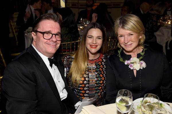 Nathan Lane, Drew Barrymore, Martha Stewart