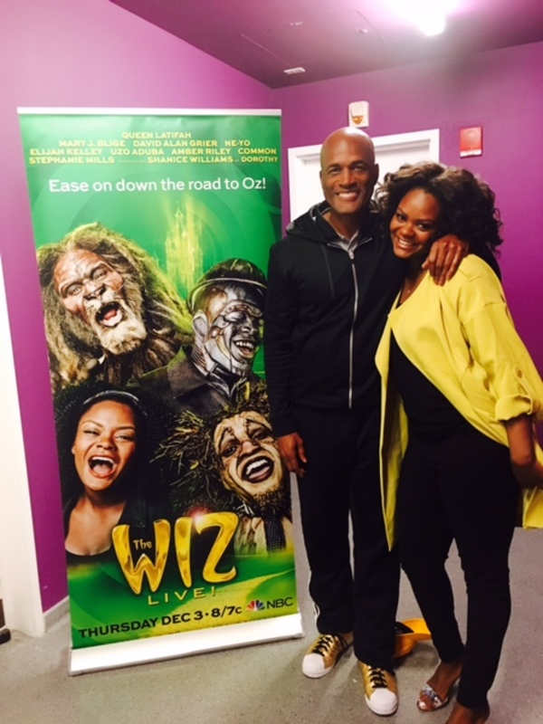 Kenny Leon and Shanice Williams
