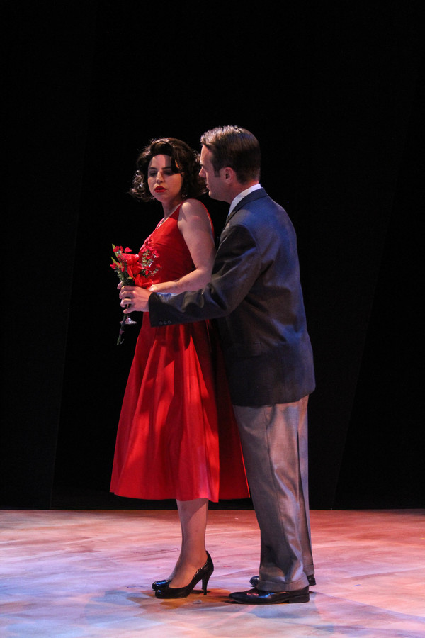 Franca (Randi Garza) and Giuseppe (Joe Knezevich)