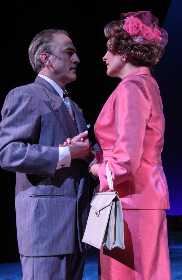 Signor (Michael Strauss) and Margaret (Christy Baggett)