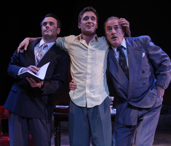 Giuseppe, Fabrizio and Signor (Joe Knezevich, Tim Quartier and Michael Strauss)