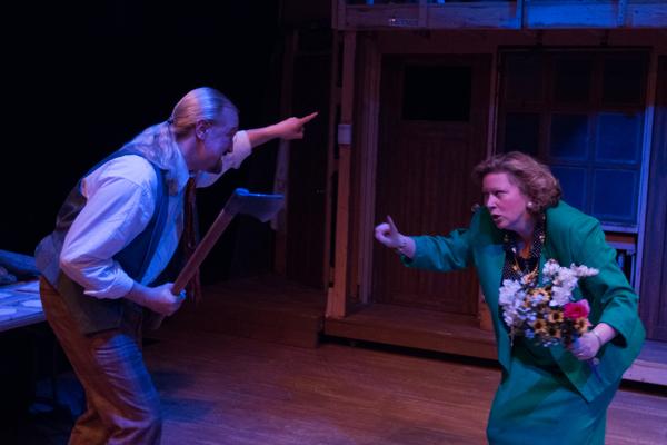 GARY CHAMBERS (Garry) and DIANA GEORGE (Belinda)