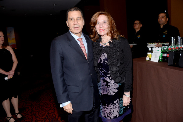 David Paterson and Mary Galda