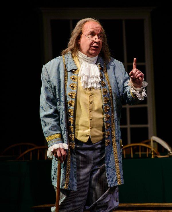 John Morrison as Ben Franklin