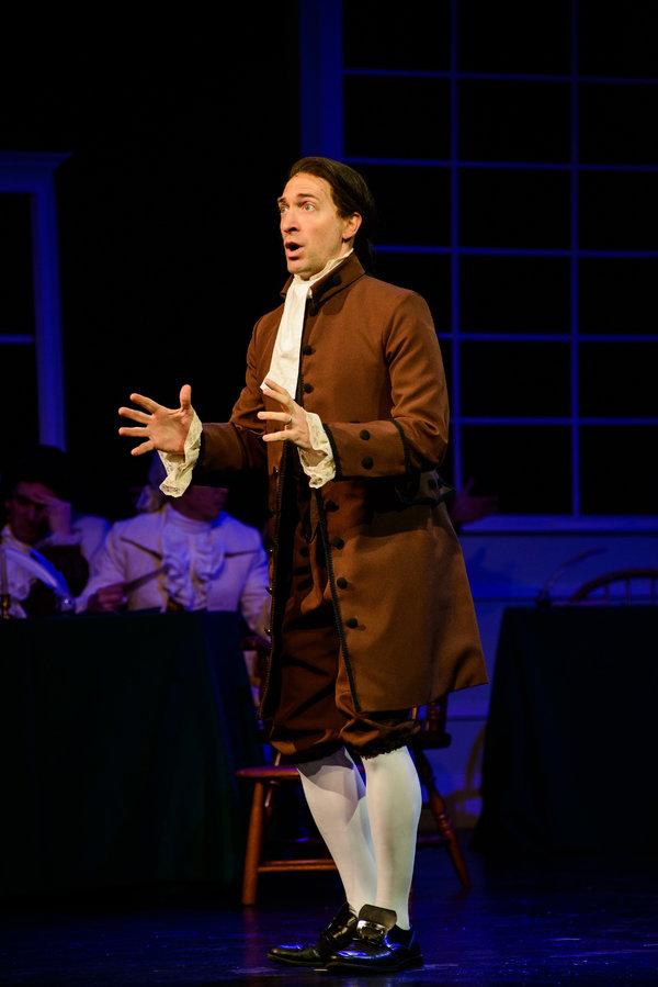 Ben Dibble as John Adams