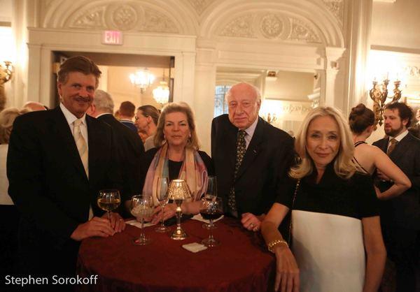 William S. Hearst, Josephine Hemsing, Dan Cameron, managing s Hemsing Associates, Eda Photo
