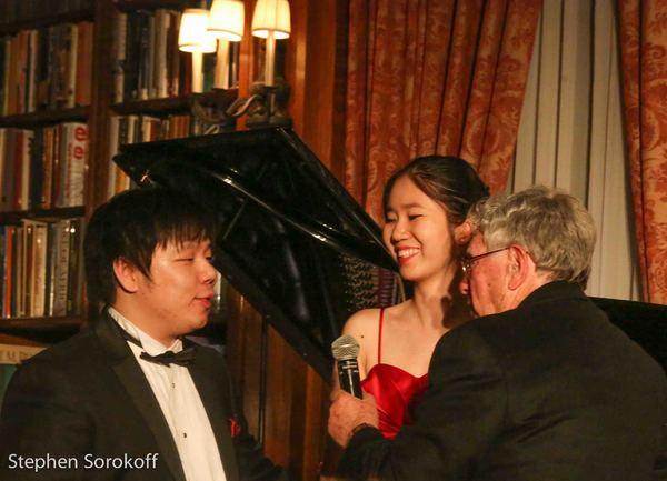Larry Weng, Anna Han, Robert Sherman Photo