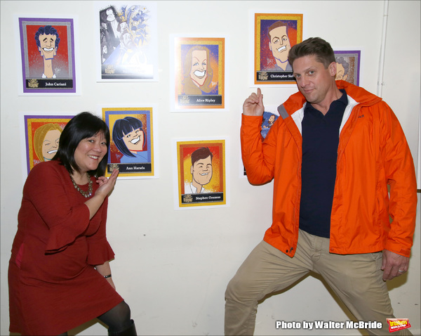 Ann Harada and Christopher Sieber