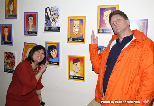 Ann Harada and Christopher Sieber