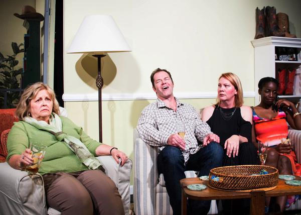 Ellie (Rebecca Taylor), A.J. (Derek Long), Kate, (Karen Wray), and Samantha (C.J. Williams)