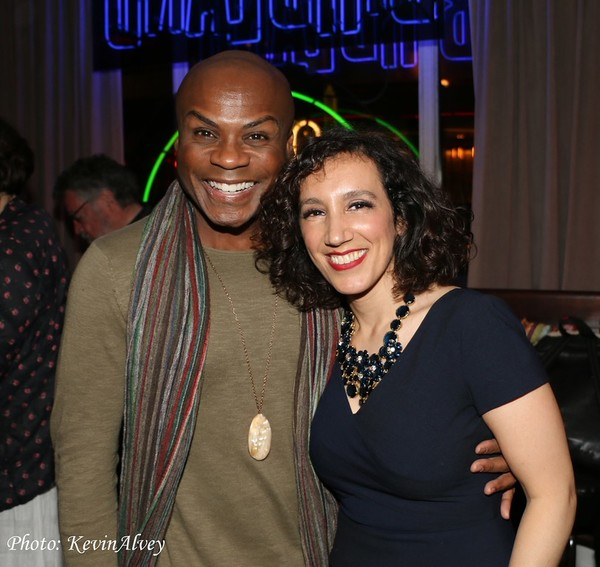 Nathan Lee Graham and Gabrielle Stravelli