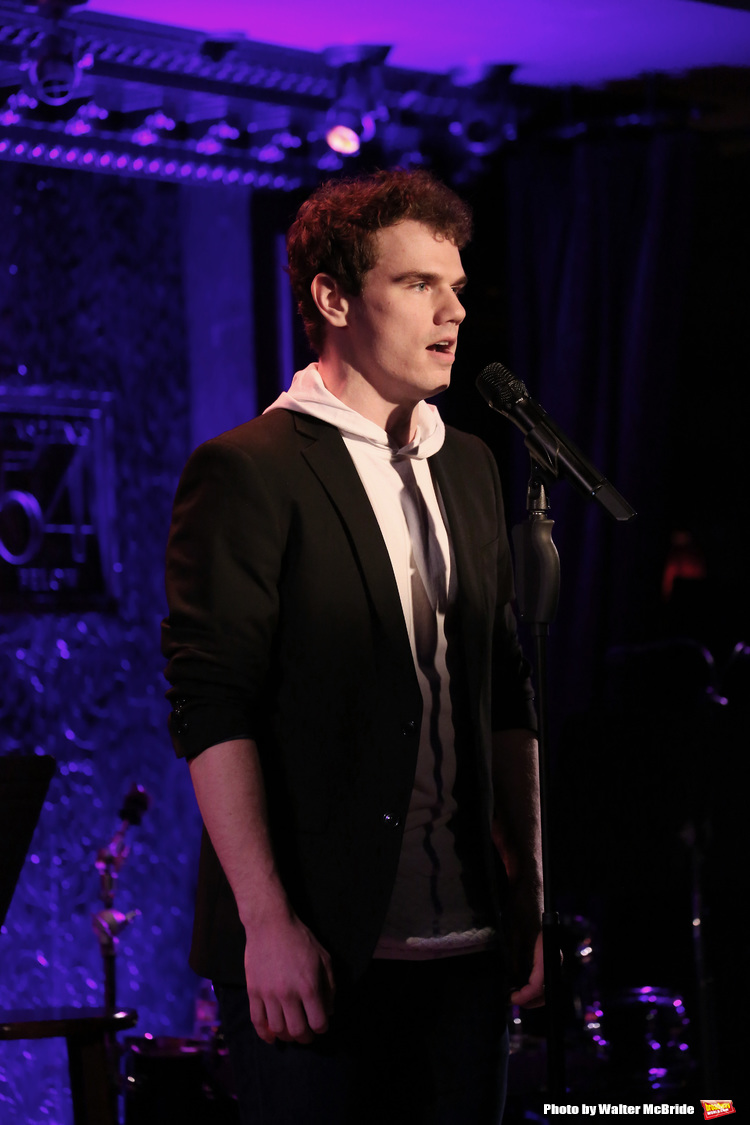 High Res during his Feinsteins/54 Below Press Preview at Feinsteins/54 Below on April 7, 2016 in New York City.