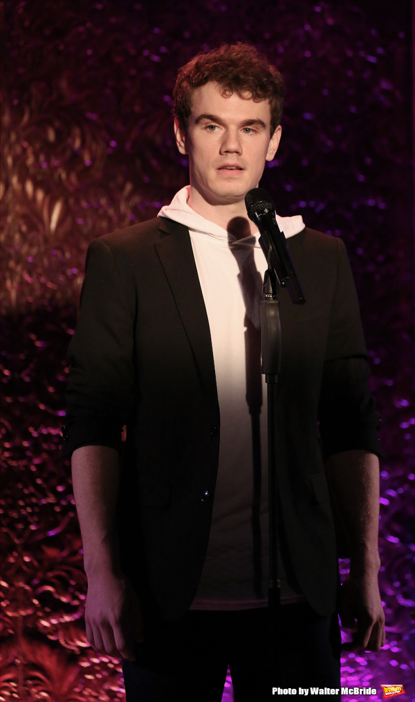 during his Feinsteins/54 Below Press Preview at Feinsteins/54 Below on April 7, 2016 in New York City.