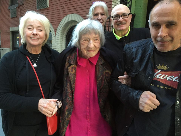 Jenny O'Hara, Arturo Toulinov, Joe Battista and Carol Schaefer