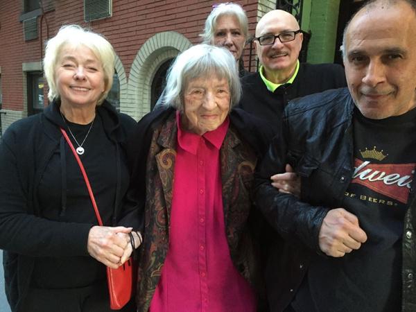 Jenny O'Hara, Arturo Toulinov, Joe Battista and Carol Schaefer