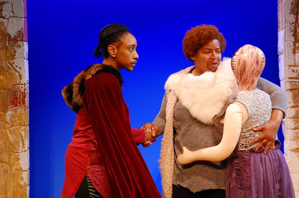 Photo Flash: First Look at The Queen's Company's All-Female TAMING OF THE SHREW