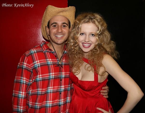 Christopher Derosa and Savannah Brown
