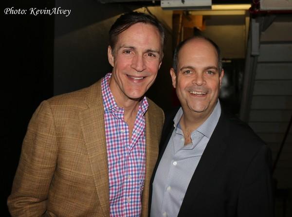 Howard McGillin and Brad Oscar