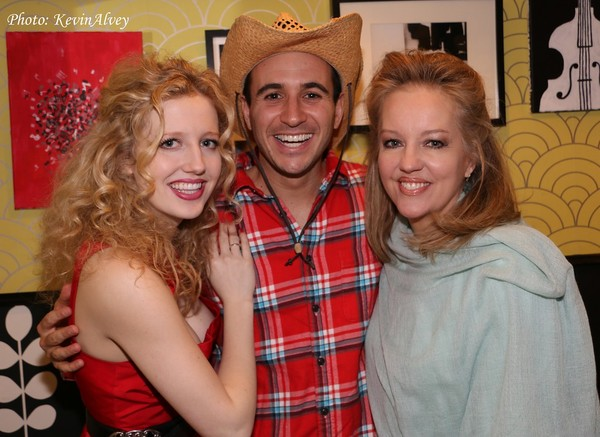 Savannah Brown, Christopher Derosa and Stacey Sullivan Photo