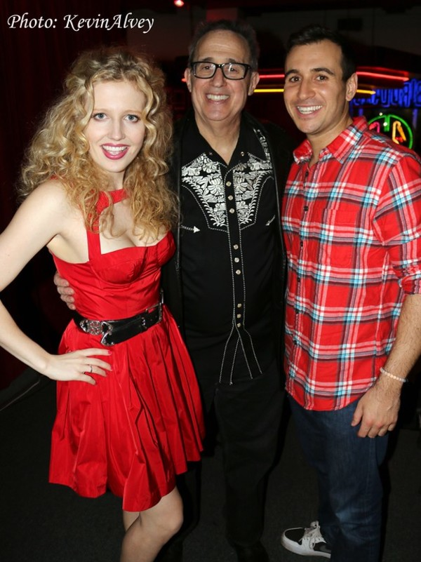 Savannah Brown, David Friedman and Christopher Derosa Photo