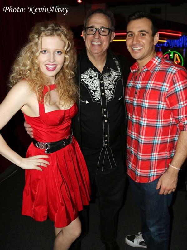 Savannah Brown, David Friedman and Christopher Derosa