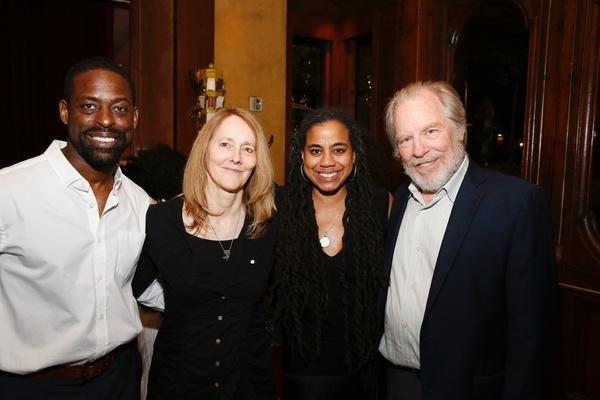 Sterling K. Brown,  Jo Bonney, Suzan-Lori Parks and Michael McKean