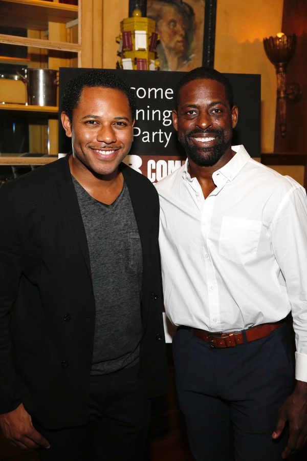 Larry Powell and Sterling K. Brown
