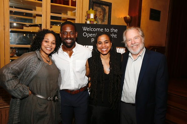 Tonye Patano and Sterling K. Brown, Suzan-Lori Parks and Michael McKean