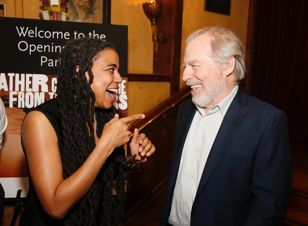 Suzan-Lori Parks and Michael McKean