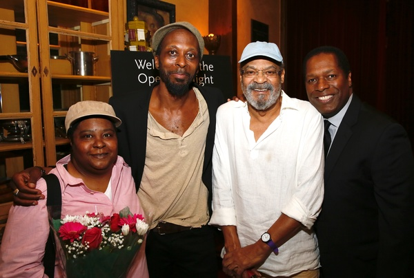 Patrena Murray, Julian Rozzell Jr., Roger Robinson and Wren T. Brown