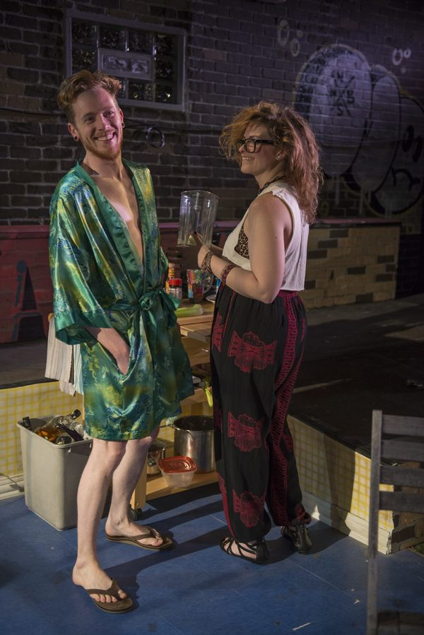 Photo Flash: First Look at SENDER, Opening Tonight at A Red Orchid Theatre