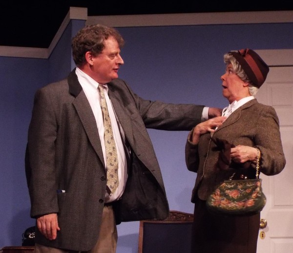 Photo Flash: First Look at A MURDER IS ANNOUNCED at ActorsNet