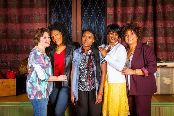 Stacy White, Jennifer Fouche, Felicia Renae, Monica J. Palmer, and Lucy Shropshire
