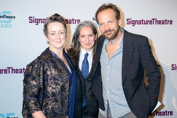Joyce O'Connor, Peter Sarsgaard, and guest