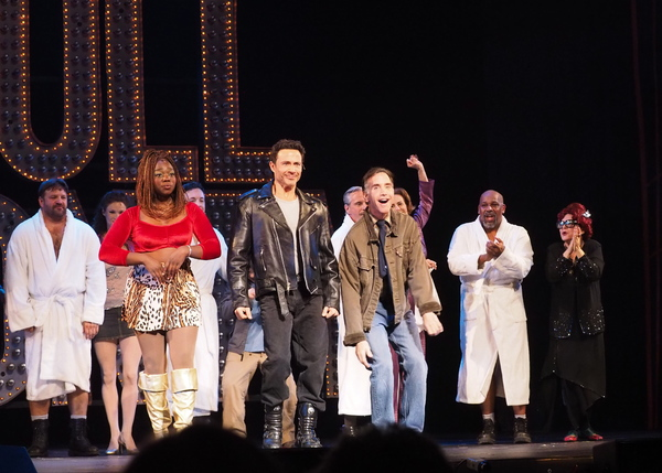 Photo Coverage: Curtain Call and Cast Party of 3-D Theatricals' FULL MONTY At Redondo Beach Performing Arts Center