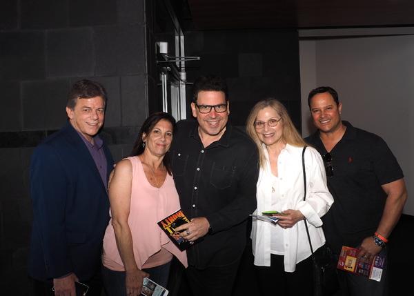 Lloyd Coleman, Lori Zuckerman, Michael Orland, Roslyn Kind, and Rick Simone-Friedland