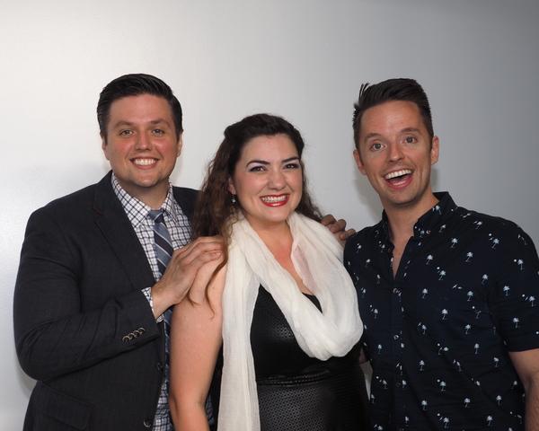 T.J. Dawson, Candice Rochelle Berge, and Daniel Dawson