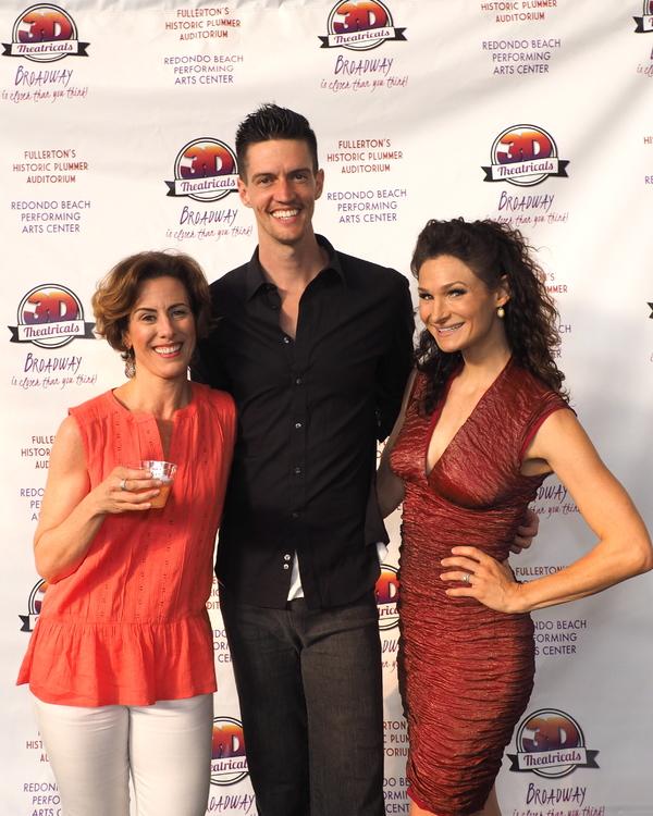 Janna Cardia, Dustin Ceithamer, and Lauren Decierdo