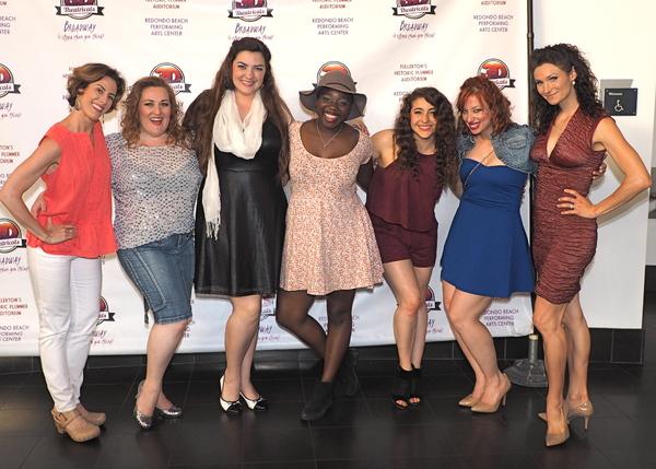 Janna Cardia, Bree Murphy, Candice Rochelle Berge, Gabrielle Jackson, Natalie Iscovich, Jeanette Dawson, and Lauren Decierdo