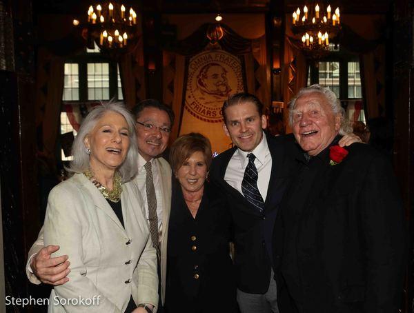 Jamie deRoy, Bill Castellini,  Cagney,Riki Kane-Larimer, producer, Joe Sirola