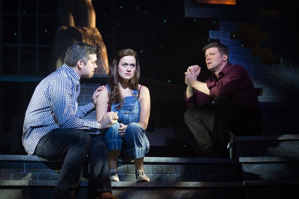 Mike Backes, Liz Shivener, and Gregg Goodbrod
