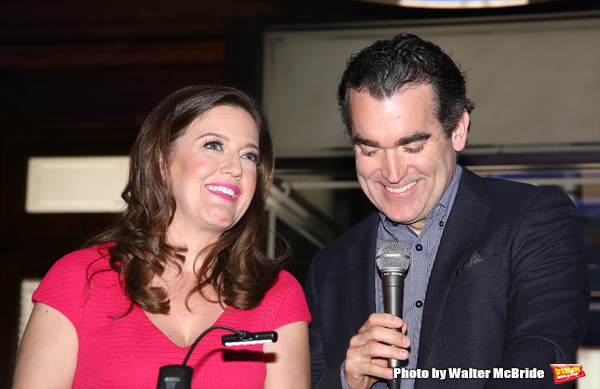 Jennifer Simard and Brian d'Arcy James