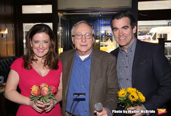Jennifer Simard, Simon Saltzman and Brian d'Arcy James